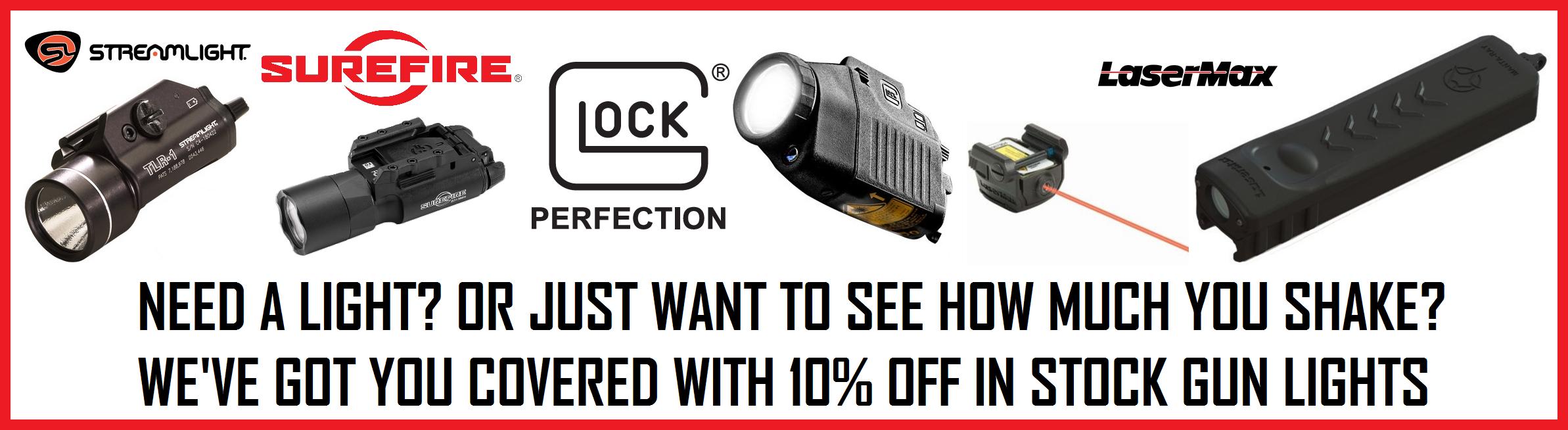 gun light sale